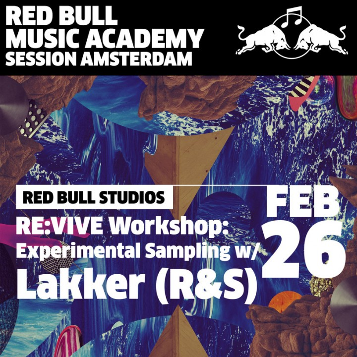 Red Bull Music Academy Experimental Sampling Workshop