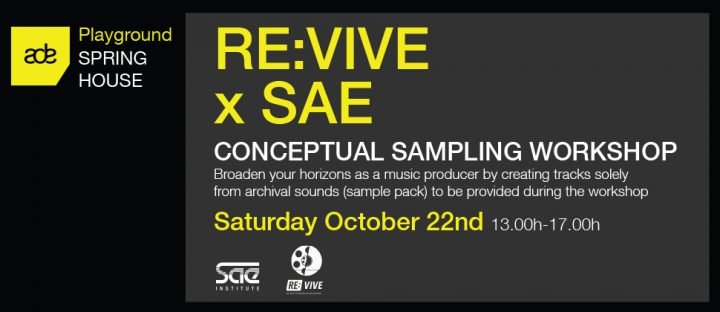 RE:VIVE x SAE: ADE Conceptual Sampling Workshop